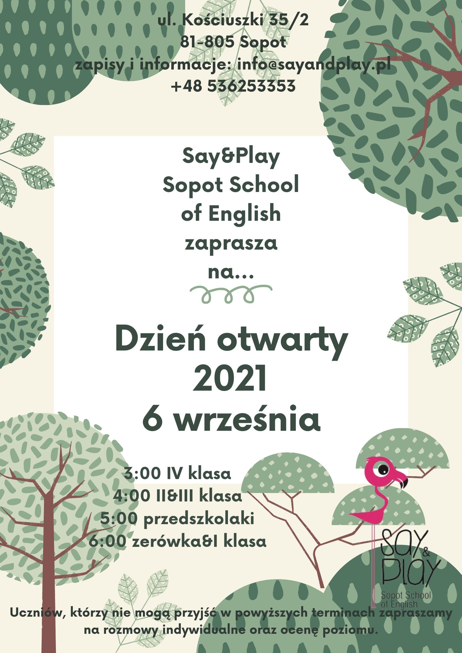 Dzień otwarty 2021
